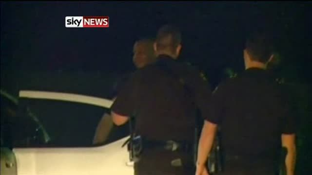 News video: Five Dead In Texas Shooting Spree (no sound)